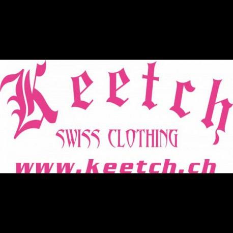 Stickers Gothique 70 cm Pink