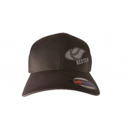 FlexFit logo silver / Dark Grey